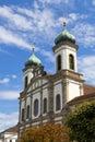 Jesuitenkirche (Jesuit Church) in Luzern Royalty Free Stock Photo