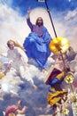 Jesus Angels Painting Church Saint Nicholas Kiev Ukraine Royalty Free Stock Photo