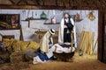 Jesus Christ baby with Maria and David on Tenerife island Royalty Free Stock Photo
