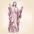 Jesus Christ Christianity vector llustration