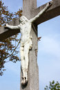 Jesus Christ crucified Royalty Free Stock Photos