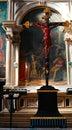 Jesus Christ on crucifix Royalty Free Stock Photo