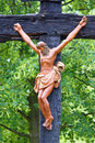Jesus christ crucifix crucified symbol of god s eternal love Stock Photo