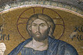 Jesus Christ mosaic in Chora Church Royalty Free Stock Photos