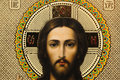 Jesus christ photo of icon of concept of easter Royalty Free Stock Photography