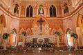 Jesus Christ in The Roman Catholic Church at Chanthaburi Provinc Royalty Free Stock Photo