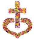 Jesus Christ's cross in my heart