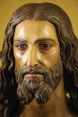 Jesus christ statue of in the church of ronda spain Royalty Free Stock Photos