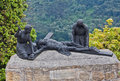 Jesus Crucified Sculpture Monserrate Hill Bogota Stock Photos
