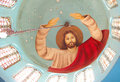 Jesus fresco Royalty Free Stock Photo