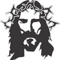 Jesus Illustration Royalty Free Stock Photo