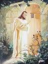 Jesus knocking at the door