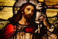 Jesus with Lamb Royalty Free Stock Photo