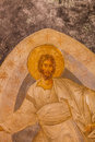 Jesus mural in chora church ceiling at Stock Photography