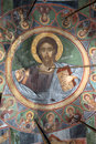 Jesus picture of a othodox fresco Royalty Free Stock Photo
