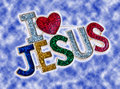 Jesus Pin Royalty Free Stock Image