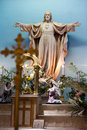 Jesus statue Royalty Free Stock Photo