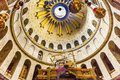 Jesus Tomb Construction Dome Church Holy Sepulcher Jerusalem Israel Royalty Free Stock Photo