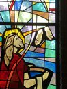 Jesus washes feet of Apostles Royalty Free Stock Photo