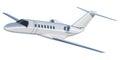 Jet airplane Royalty Free Stock Photo