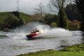 Jet Boat. Royalty Free Stock Images