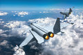Jet fighters Royalty Free Stock Photo