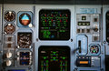 Jet instrument panel Royalty Free Stock Photo