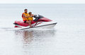 Jet Ski Duo Royalty Free Stock Photos