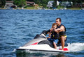 Jet ski fun Royalty Free Stock Image