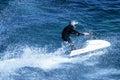 Jet-ski fun on a day Royalty Free Stock Photo