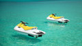 Jet Ski on the indian ocean Royalty Free Stock Photography