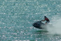 Jet-ski rider Royalty Free Stock Photo