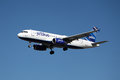 Jetblue Airbus A320 Photo libre de droits