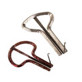 Jew s harp two harps isolated over a white background Stock Photo