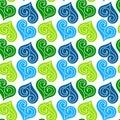 Jewel Hearts Pattern Seamless ...