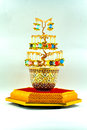 Jewel tree of luck Royalty Free Stock Photo