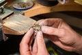Jeweler fixes gems