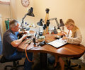 image photo : Jewelers in the workplace