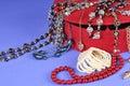 Jewellery box Royalty Free Stock Photo