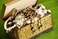 Jewelry casket Royalty Free Stock Photos
