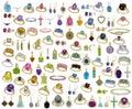 Jewelry - Gemstones - Isolated Royalty Free Stock Photo