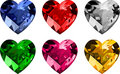 Jewelry _hearts Stock Image
