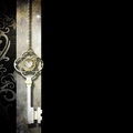 Jewelry key background Stock Photos