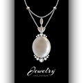 Jewelry Pendant on Black Royalty Free Stock Photo