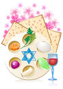 Jewish celebrate pesach passover with eggs Stock Image