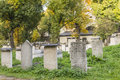 Jewish cemetery in kazimierz in krakow poland Royalty Free Stock Photo