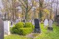 Jewish cemetery new in kazimierz in krakow poland street miodowa http jewishkrakow net pl see new Stock Photos