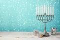 Jewish Holiday Hanukkah Celebr...