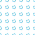 Jewish holiday Hanukkah seamless pattern. Royalty Free Stock Photo