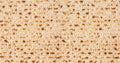 Jewish holiday Passover background. Matzo texture pattern Royalty Free Stock Photo